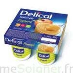 DELICAL NUTRA'POTE DESSERT AUX FRUITS, 200 g x 4 à Mimizan