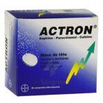 ACTRON, comprimé effervescent à Mimizan