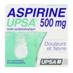 ASPIRINE UPSA 500 mg, comprimé effervescent à Mimizan