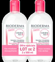 Crealine Ts H2o Solution Micellaire Sans Parfum Nettoyante Apaisante 2fl/500ml à Mimizan