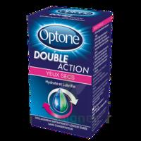 Optone Double Action Solution Oculaire Yeux Secs Fl/10ml à Mimizan