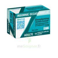 DOXYLAMINE ZENTIVA CONSEIL 15 mg Cpr pell séc T/10 à Mimizan