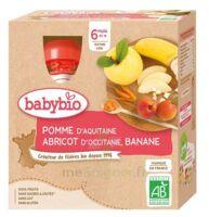 Babybio Gourde Pomme Abricot Banane à Mimizan