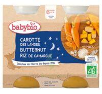 Babybio Pot Bonne Nuit Carotte Courge Butternut Riz à Mimizan