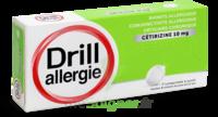 DRILL 10 mg Comprimés à sucer allergie cétirizine Plq/7 à Mimizan