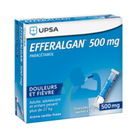 Efferalgan 500 mg Glé en sachet Sach/16 à Mimizan