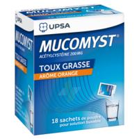 MUCOMYST 200 mg Poudre pour solution buvable en sachet B/18 à Mimizan
