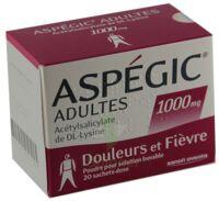 ASPEGIC ADULTES 1000 mg, poudre pour solution buvable en sachet-dose 15 à Mimizan