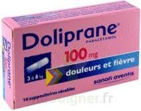 Doliprane 100 Mg Suppositoires Sécables 2plq/5 (10) à Mimizan