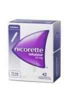 NICORETTE INHALEUR 10 mg Cartouche p inh bucc inhalation buccale B/42 à Mimizan