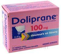 Doliprane 100 Mg Poudre Pour Solution Buvable En Sachet-dose B/12 à Mimizan