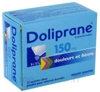 Doliprane 150 Mg Poudre Pour Solution Buvable En Sachet-dose B/12 à Mimizan