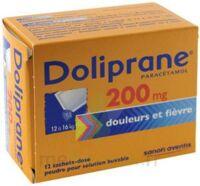 Doliprane 200 Mg Poudre Pour Solution Buvable En Sachet-dose B/12 à Mimizan