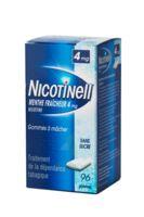 NICOTINELL MENTHE FRAICHEUR 4 mg SANS SUCRE, gomme à mâcher médicamenteuse 8Plq/12 à Mimizan