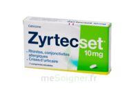 ZYRTECSET 10 mg, comprimé pelliculé sécable à Mimizan