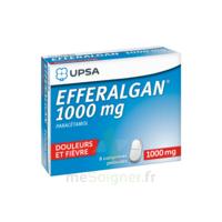 Efferalgan 1000 mg Comprimés pelliculés Plq/8 à Mimizan