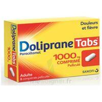 DOLIPRANETABS 1000 mg Comprimés pelliculés Plq/8 à Mimizan
