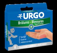 URGO BRULURES-BLESSURES PETIT FORMAT x 6 à Mimizan