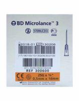Bd Microlance 3, G25 5/8, 0,5 Mm X 16 Mm, Orange  à Mimizan