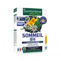 Santarome Bio Sommeil 8h Solution Buvable 20 Ampoules/10ml à Mimizan