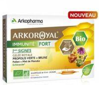 Arkoroyal Immunité Fort Solution Buvable 20 Ampoules/10ml à Mimizan