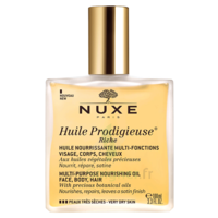 Huile prodigieuse® riche - huile nourrissante multi-fonctions visage, corps, cheveux100ml à Mimizan