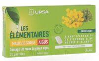 Les Elémentaires Sans Sucre Pastilles Maux De Gorge Aigus Menthe B/20 à Mimizan