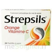STREPSILS ORANGE VITAMINE C, pastille à Mimizan