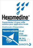 HEXOMEDINE TRANSCUTANEE 1,5 POUR MILLE, solution pour application locale à Mimizan