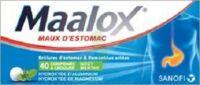 Maalox Hydroxyde D'aluminium/hydroxyde De Magnesium 400 Mg/400 Mg Cpr à Croquer Maux D'estomac Plq/40 à Mimizan
