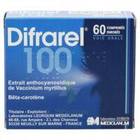 DIFRAREL 100 mg, comprimé enrobé 6Plq/10