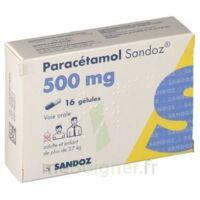Paracetamol Sandoz 500 Mg, Gélule à Mimizan
