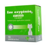 EAU OXYGENEE 10 VOLUMES GILBERT, solution pour application cutanée en récipient unidose à Mimizan