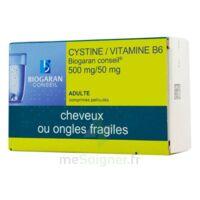 Cystine/vitamine B6 Biogaran Conseil 500 Mg/50 Mg Cpr Pell Plq/120 à Mimizan
