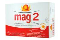 MAG 2 SANS SUCRE 122 mg, solution buvable en ampoule édulcoré à la saccharine sodique à Mimizan