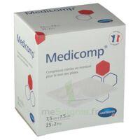 Medicomp® Compresses En Nontissé 7,5 X 7,5 Cm - Pochette De 2 - Boîte De 25 à Mimizan