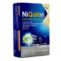 Niquitin 4 Mg Gom à Mâcher Médic Menthe Glaciale Sans Sucre Plq Pvc/pvdc/alu/30 à Mimizan