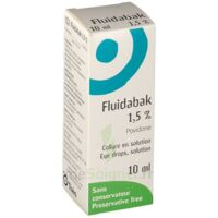 FLUIDABAK 1,5 %, collyre en solution à Mimizan