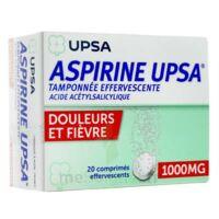 ASPIRINE UPSA TAMPONNEE EFFERVESCENTE 1000 mg, comprimé effervescent à Mimizan