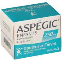 ASPEGIC ENFANTS 250, poudre pour solution buvable en sachet-dose à Mimizan
