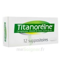 TITANOREINE Suppositoires B/12 à Mimizan