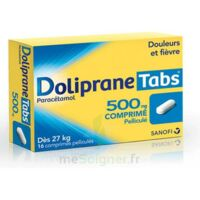 DOLIPRANETABS 500 mg Comprimés pelliculés Plq/16 à Mimizan