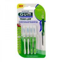 GUM TRAV - LER, 1,1 mm, manche vert , blister 4 à Mimizan