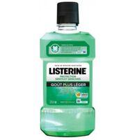 Listerine Protection Dents Gencives Bain Bouche Goût Plus Léger Fl/500ml à Mimizan