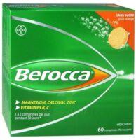 Berocca Comprimés effervescents sans sucre T/60 à Mimizan