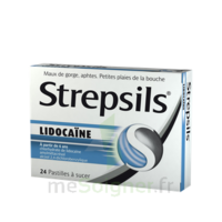 Strepsils Lidocaïne Pastilles Plq/24 à Mimizan