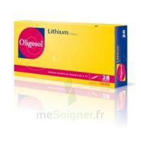 Oligosol Lithium Solution Buvable En Ampoule Ou En Récipient Unidose 28amp/2ml à Mimizan
