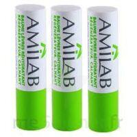 Amilab Baume Labial Réhydratant Et Calmant Lot De 3 à Mimizan