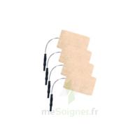 Stimex Electrode Rectangulaire électrostimulation 50x90mm B/4 à Mimizan