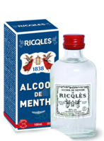 Ricqles 80° Alcool De Menthe 100ml à Mimizan